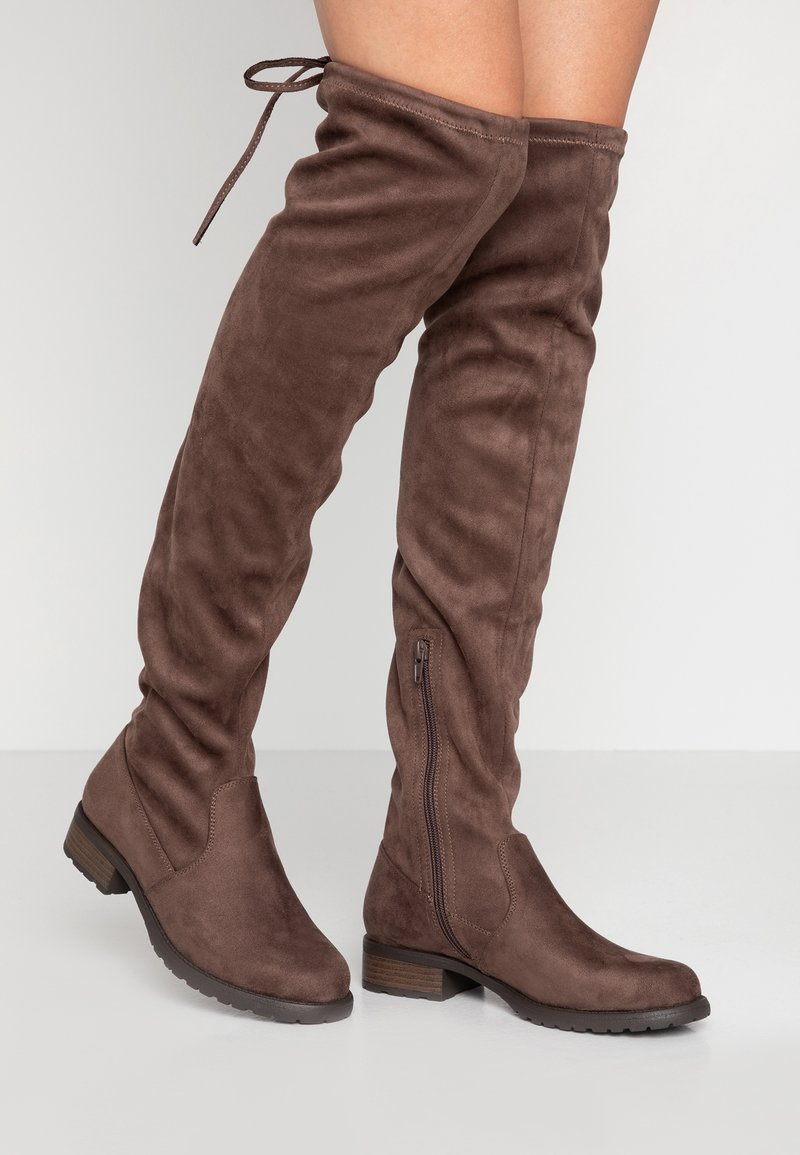 Anna Field - Over-the-knee boots - taupe