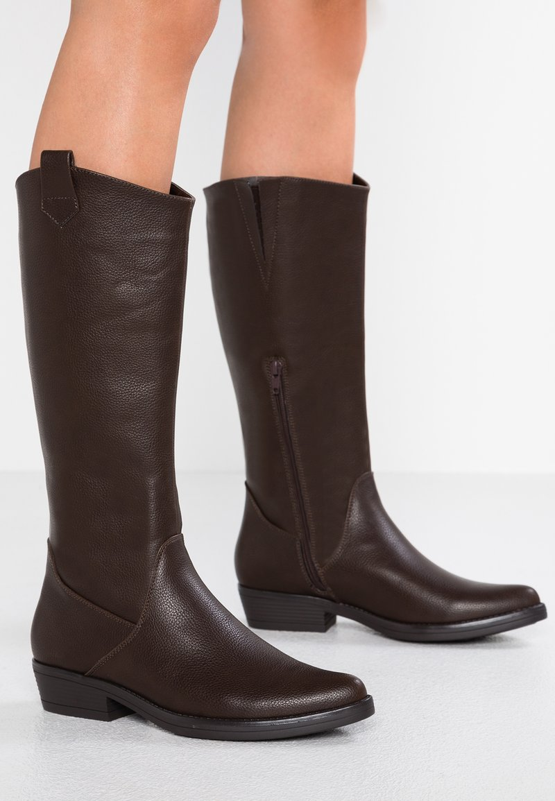 Anna Field - Cowboy/Biker boots - brown