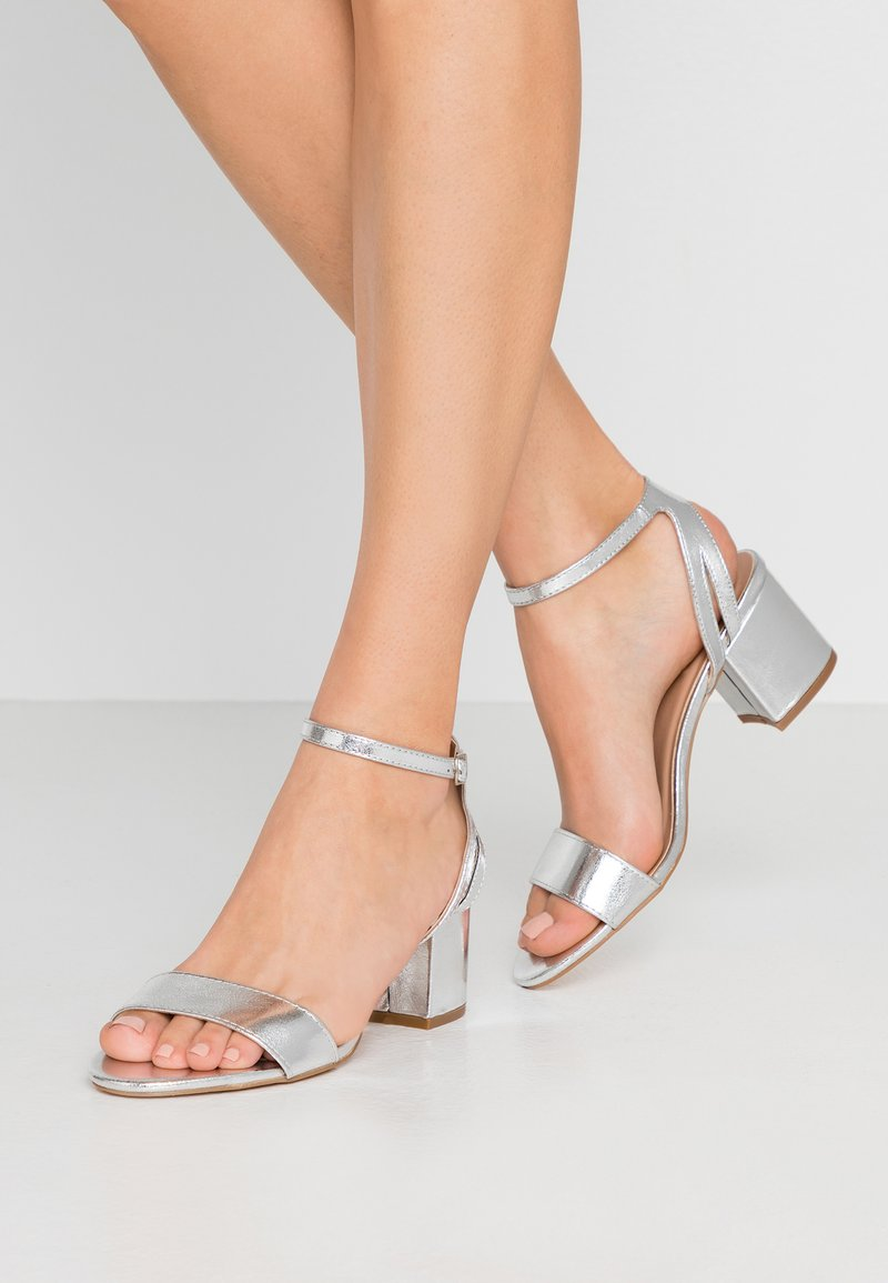 Anna Field - High heeled sandals - silver