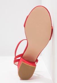 Anna Field - Sandaler med høye hæler - red - 6