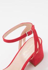 Anna Field - Sandaler med høye hæler - red - 2