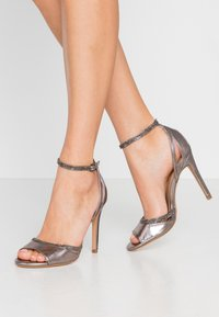 Anna Field - High heeled sandals - gunmetal - 0