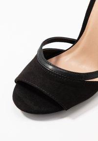Anna Field - Korolliset sandaalit - black - 2