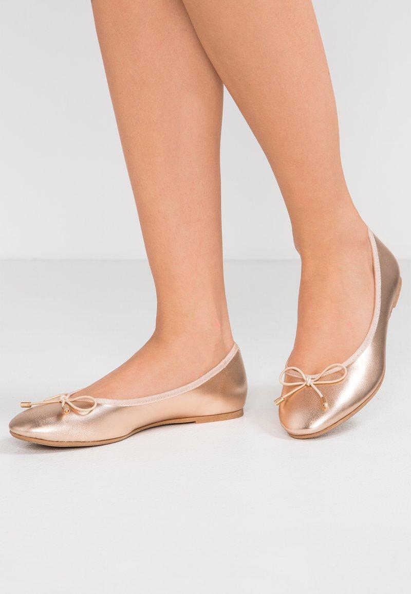 Anna Field - Klassischer  Ballerina - rose-gold