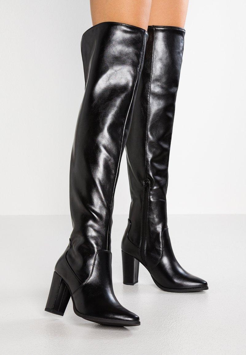 Anna Field - Stivali con i tacchi - black