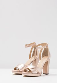 Anna Field Select - High heeled sandals - rose gold - 4