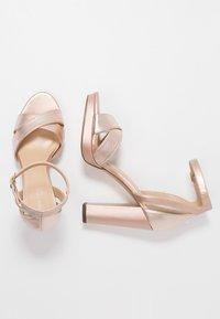 Anna Field Select - High heeled sandals - rose gold - 3