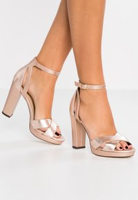 Anna Field Select - High heeled sandals - rose gold - 0
