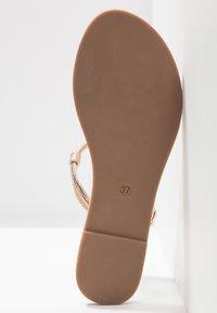 Anna Field - T-bar sandals - rose-gold - 6