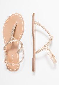 Anna Field - T-bar sandals - rose-gold - 3