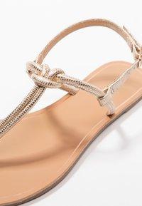 Anna Field - T-bar sandals - rose-gold - 2