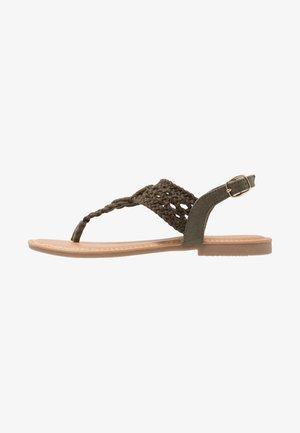 Flip Flops - khaki