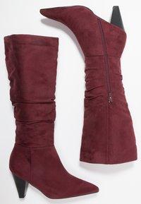 Anna Field - Boots - bordeaux - 3