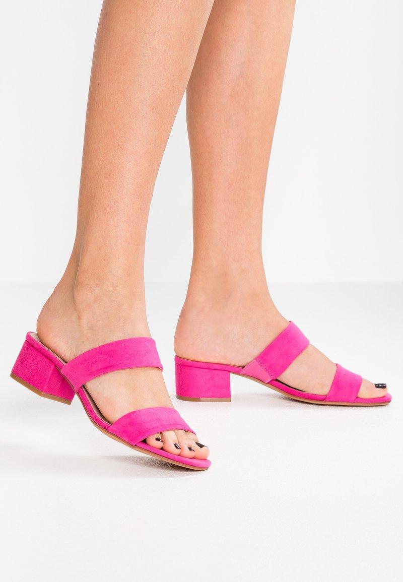 Anna Field - Heeled mules - pink