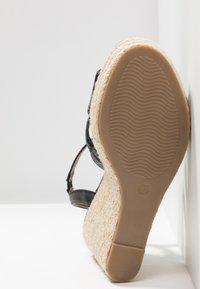 Anna Field - Korolliset sandaalit - black - 6