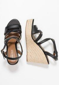 Anna Field - Korolliset sandaalit - black - 3