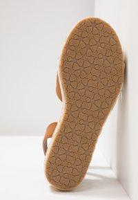 Anna Field - Korkeakorkoiset sandaalit - cognac - 6