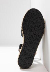 Anna Field - Korkeakorkoiset sandaalit - black - 6