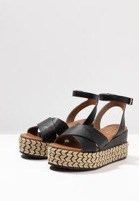 Anna Field - Korkeakorkoiset sandaalit - black - 4