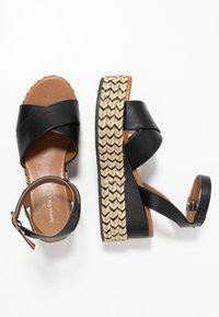 Anna Field - Korkeakorkoiset sandaalit - black - 3