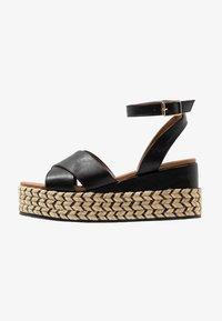 Anna Field - Korkeakorkoiset sandaalit - black - 1