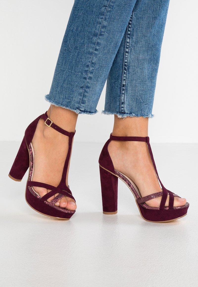 Anna Field - High heeled sandals - bordeaux