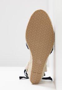 Anna Field - Wedge sandals - dark blue - 6
