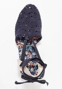 Anna Field - Wedge sandals - dark blue - 3