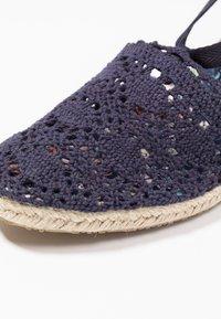 Anna Field - Wedge sandals - dark blue - 2