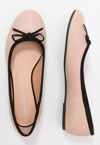 Anna Field - Ballet pumps - nude/black - 3