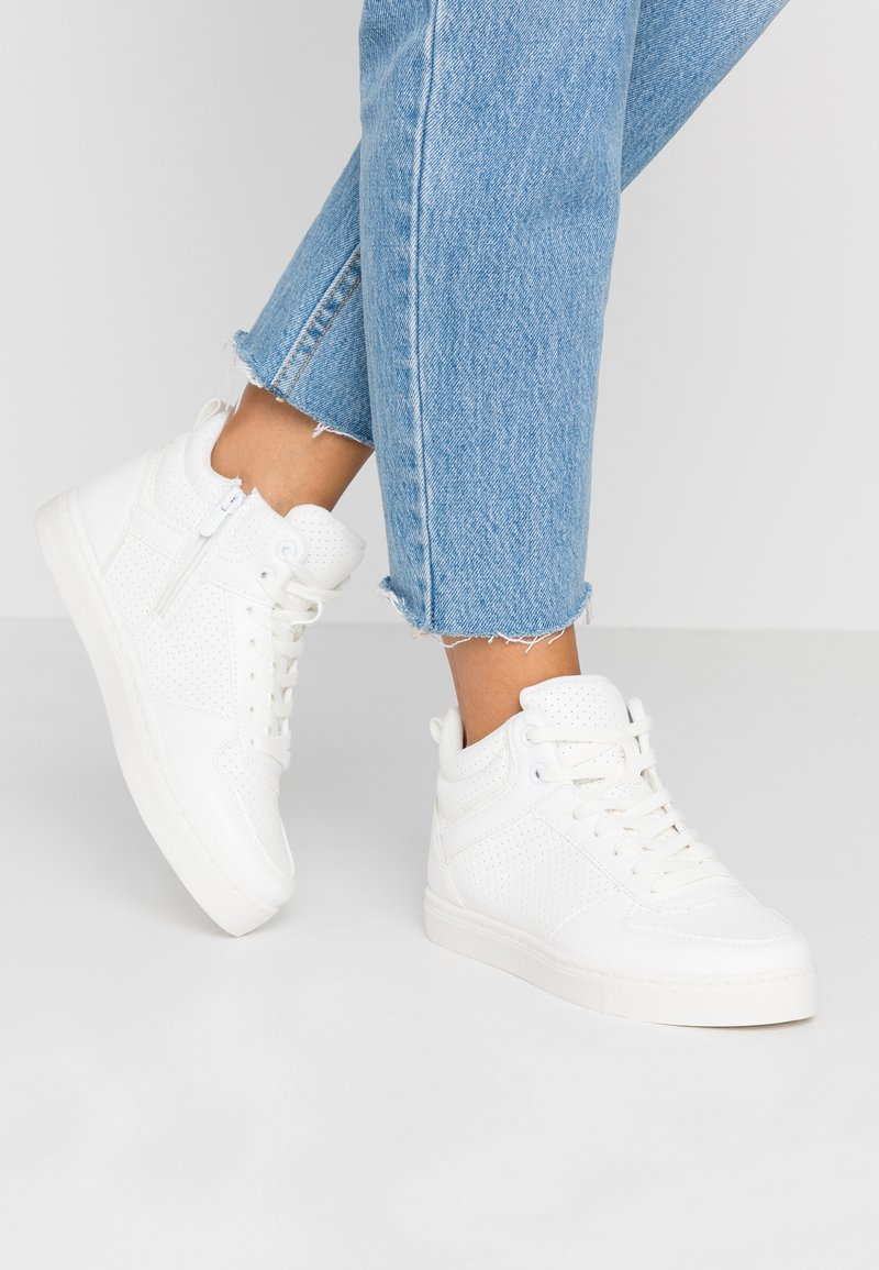 Anna Field - Höga sneakers - white