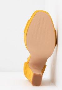 Anna Field - Sandály na vysokém podpatku - yellow - 6