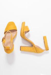 Anna Field - Sandály na vysokém podpatku - yellow - 3