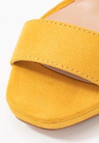 Anna Field - Sandály na vysokém podpatku - yellow - 2