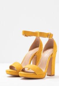 Anna Field - Sandály na vysokém podpatku - yellow - 4
