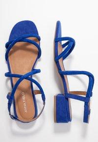 Anna Field - Sandaler - blue - 3