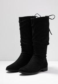 Anna Field - Vysoká obuv - black - 4