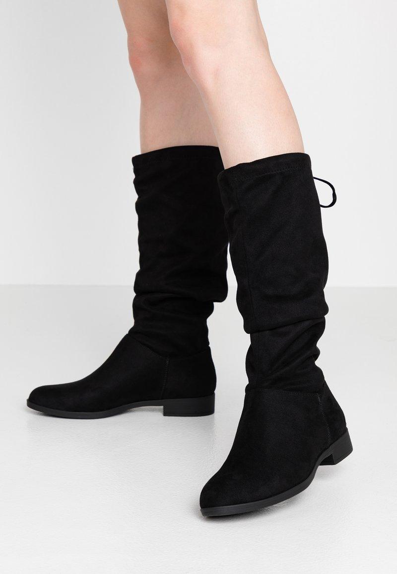 Anna Field - Vysoká obuv - black