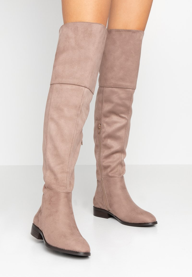Anna Field - Over-the-knee boots - sand