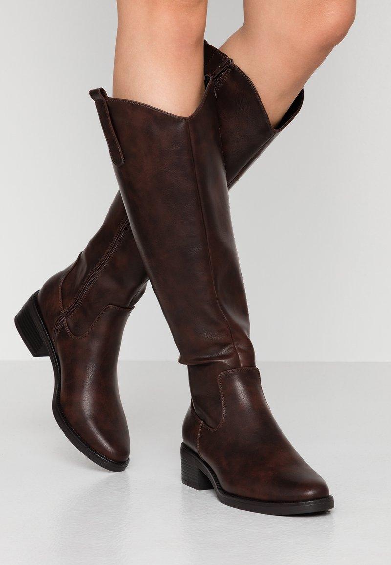 Anna Field - Høje støvler/ Støvler - brown