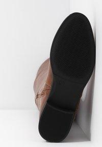Anna Field - Vysoká obuv - cognac - 6