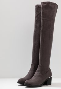 Anna Field - Høye støvler - grey - 4