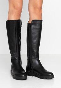 Anna Field - Vysoká obuv - black - 0