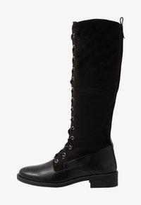 Anna Field - Šněrovací vysoké boty - black - 1