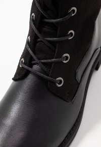 Anna Field - Šněrovací vysoké boty - black - 2