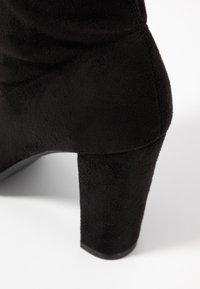 Anna Field - Kozačky na vysokém podpatku - black - 2