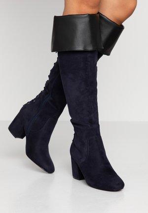 Høye støvler - blue