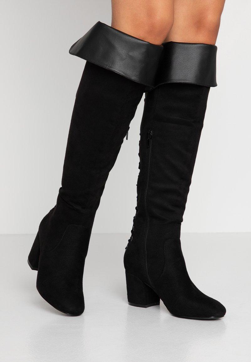 Anna Field - Overknee laarzen - black