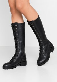 Anna Field - Lace-up boots - black - 0