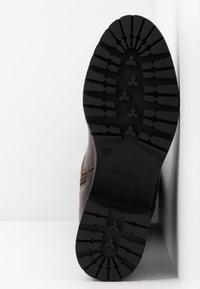 Anna Field - Vysoká obuv - brown - 6